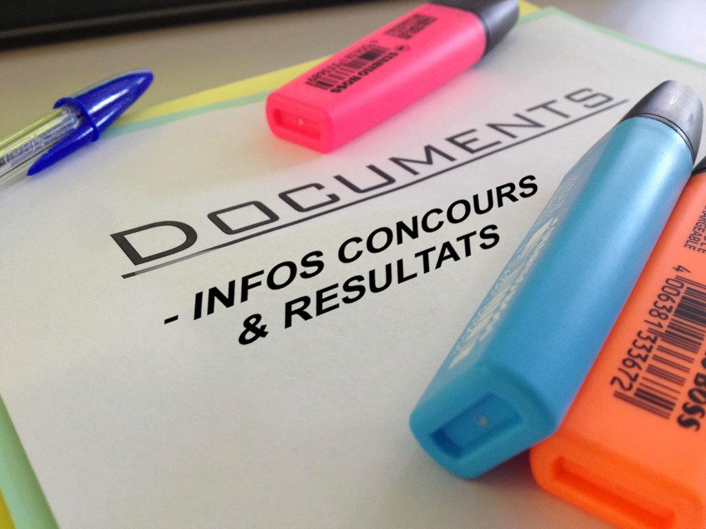 Infos Concours
